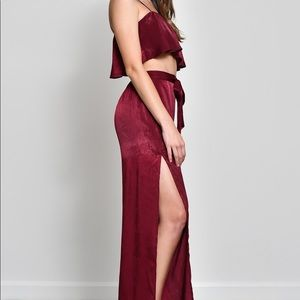 Other - Two piece set - Maroon